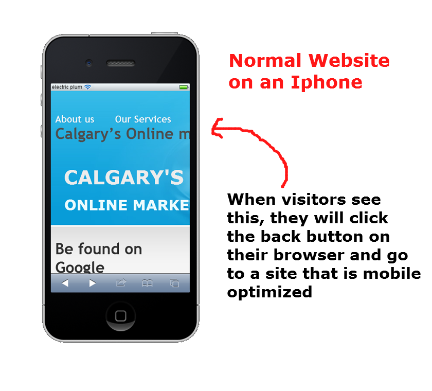 Calgary mobile website